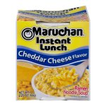 Maruchan Instant Lunch Ramen Noodle Soup, Cheddar Cheese, 2.25 Oz