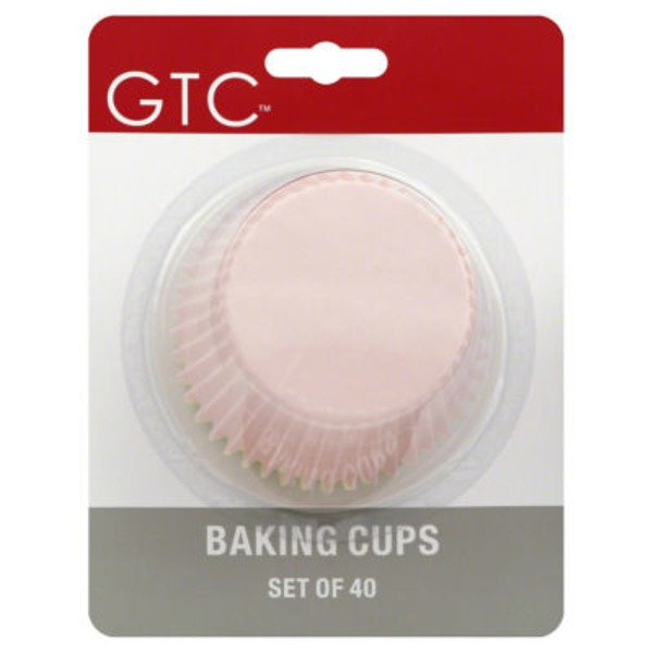 GTC Assorted Colors Texas Size Baking Cups