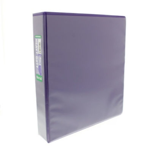 Samsill Heavy Duty D Ring Antimicrobial Binder