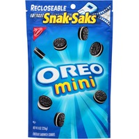 Nabisco Oreo Chocolate Mini Snak-Saks Sandwich Cookies