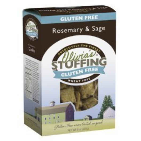 Olivia's Croutons Gluten Free Rosemary & Sage Stuffing