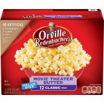 Orville Redenbacher's Movie Theater Butter Microwave Popcorn, Classic Bag, 12 Ct