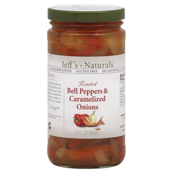 Jeff's Naturals Roasted Bell Peppers & Caramelized Onions