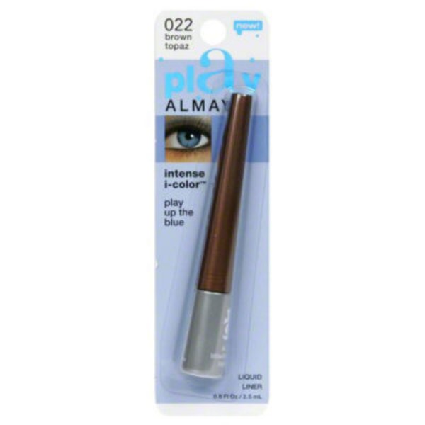 Almay Intense i-Color Liquid Liner - For Blue Eyes, Brown Topaz