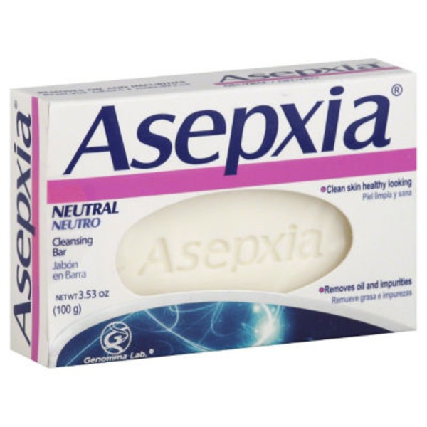Asepxia Cleansing Bar, Neutral, Box
