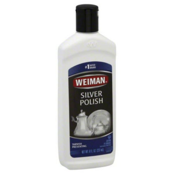 Weiman Silver Polish Tarnish Preventing
