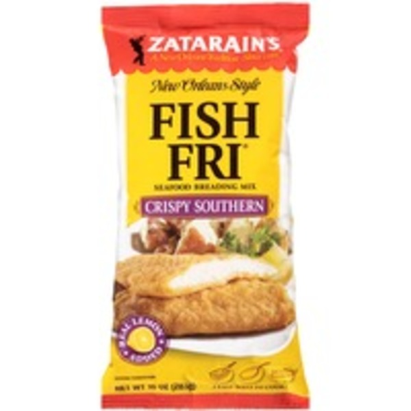 Zatarain's Fish-Fri Crispy Southern Seafood Breading Mix