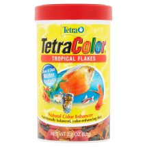 Tetra Tetra Color Tropical Flakes Natural Color Enhancer Fish Flakes, 2.2 Oz