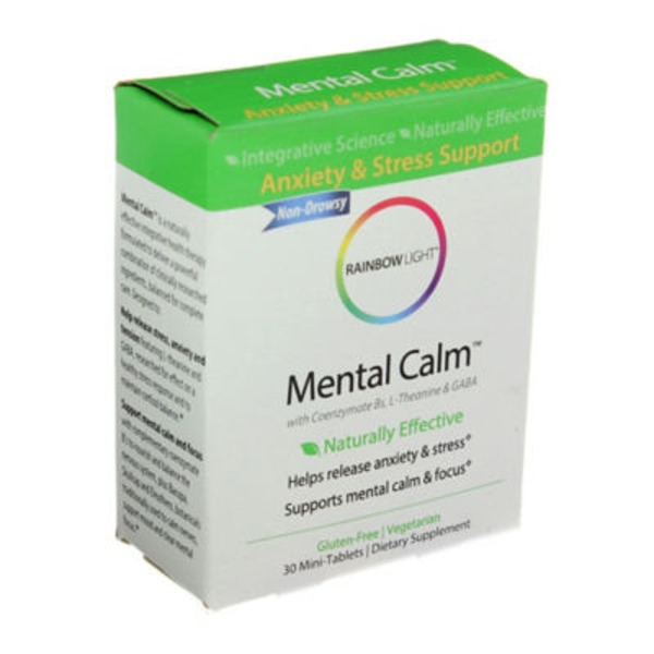 Rainbow Light Mental Calm Mini-Tablets