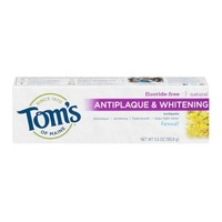 Tom's of Maine Natural Fluoride-Free Antiplaque  & Whitening Toothpaste Fennel