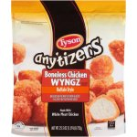 Tyson Any'tizers Buffalo Style Boneless Anytizers Chicken Wings, 25.5 Oz