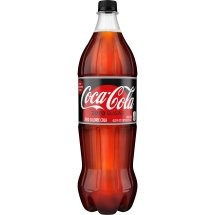 Coke Zero Sugar Bottle, 1.25 Liter