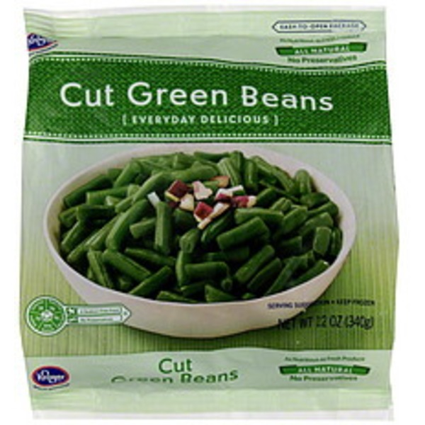 Kroger Cut Frozen Green Beans