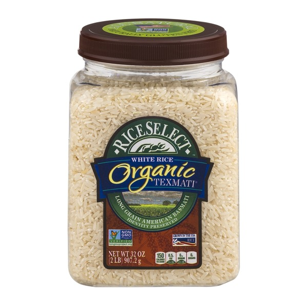RiceSelect Organic Texmati White Rice