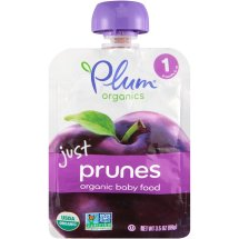 Plum Organics Just Prunes Organic Baby Food, 3.5 OZ