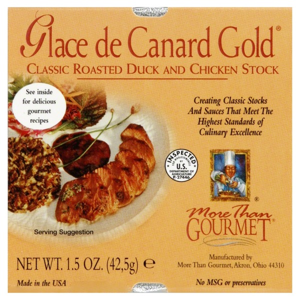 More Than Gourmet Glace De Canard Gold Roasted Duck & Chicken Stock