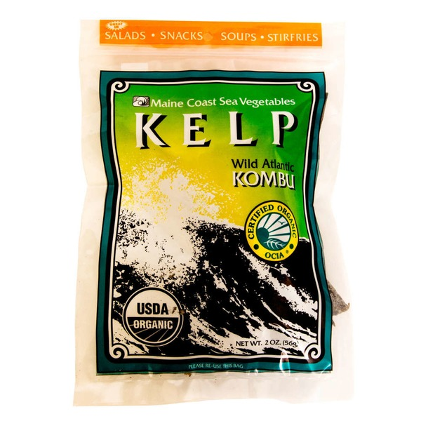 Maine Coast Kelp, Wild Atlantic Kombu