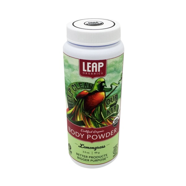LEAP Organics Lemongrass Body Powder