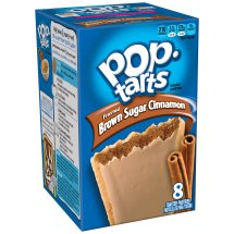 Kellogg's Pop-Tarts Frosted Brown Sugar Cinnamon Toaster Pastries, 8ct 14oz