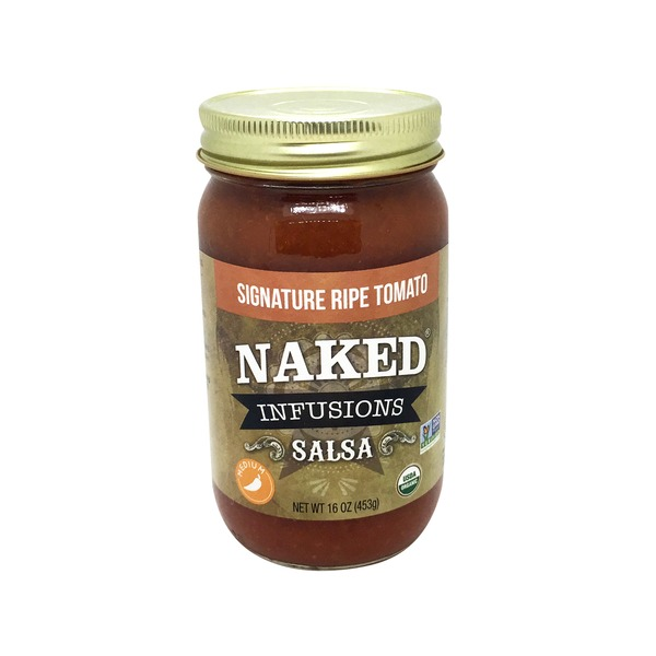 Naked Infusions Signature Ripe Tomato Medium Heat Salsa