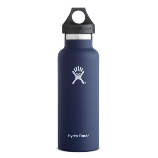 Hydro Flask Cobalt Standard Mouth Bottle 18 Oz