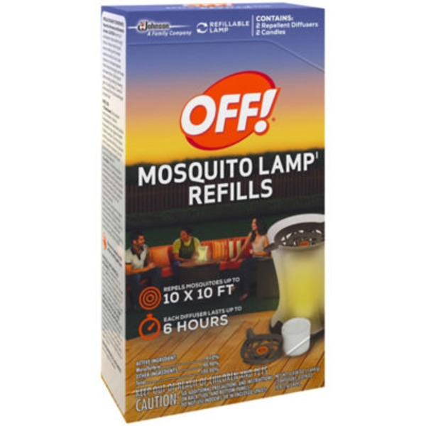 Off! Mosquito Lamp Refills Insect Repellent