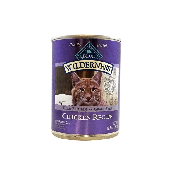 Blue Buffalo Cat 12.5 Oz Wild Gluten Free Chicken Pate