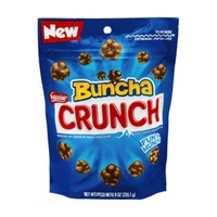 Buncha Crunch Candy Pieces Made of Milk Chocolate with Crisped Rice Mixed In Chocolate Candy Bar
