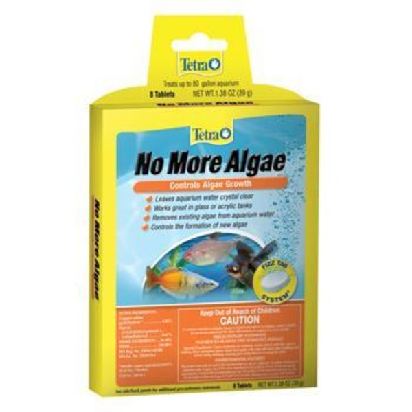 Tetra No More Algae Fizz Tabs Pack Of 8 Tablets