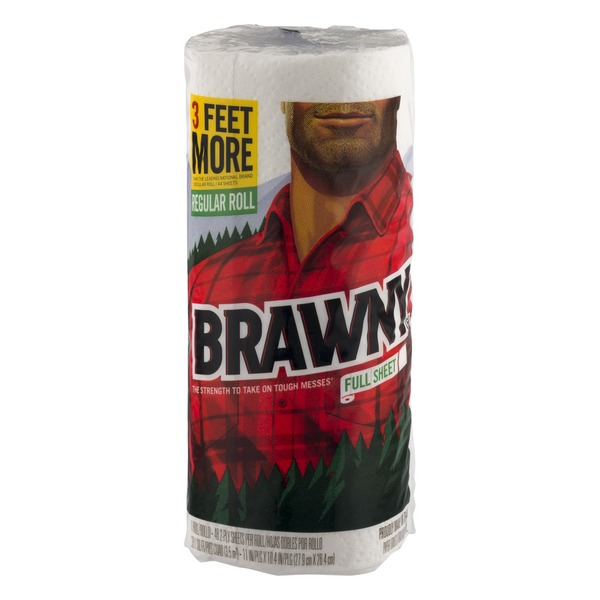 Brawny Paper Towels Full Sheet