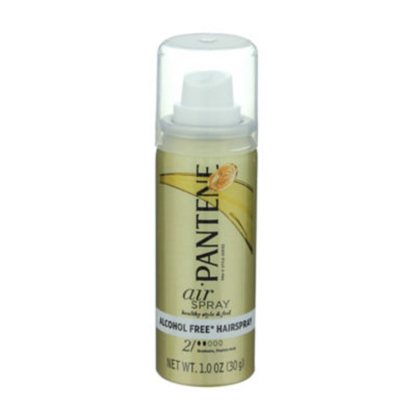 Pantene Styling Pantene Pro-V Airspray Flexible Hold Hair Spray 1 oz (trial size) Female Hair Care
