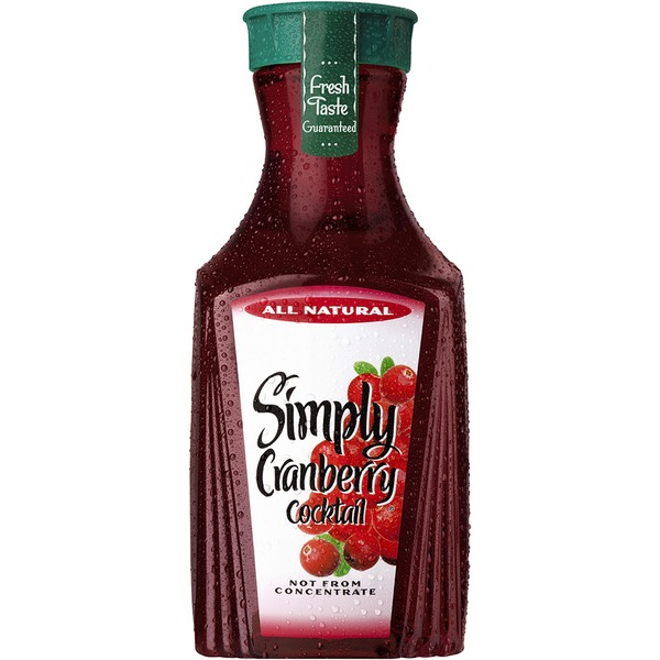 Simply Beverages Cranberry Cocktail