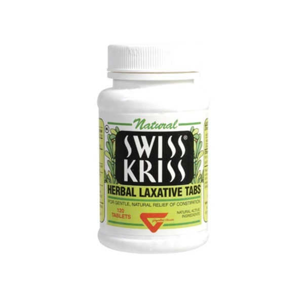 Swiss Kriss Herbal Laxative Tabs, Tablets