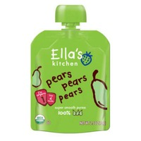 Ella's Kitchen Super Smooth Pears Pears Pears Puree 1 (from 4 Months)