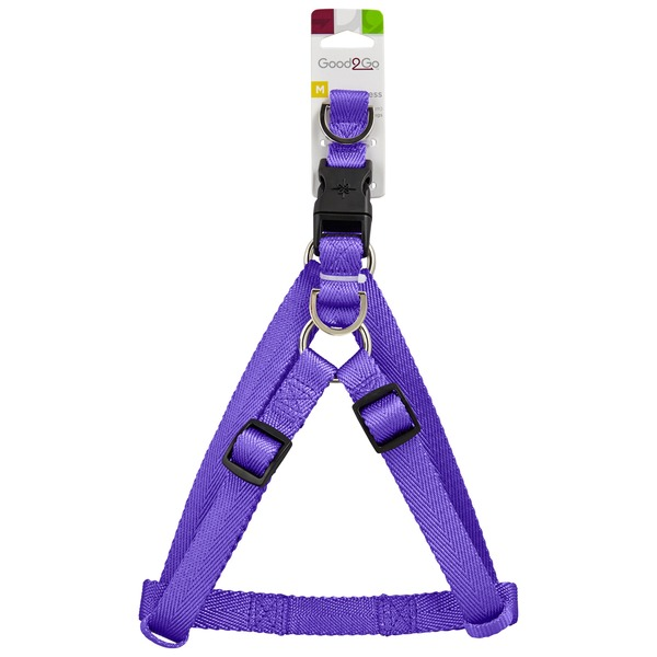 Good2 Go Medium Purple Dog Harness
