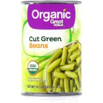 Great Value Organic Green Beans, 14.5oz