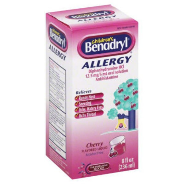Children's Benadryl® Cherry Flavored Allergy