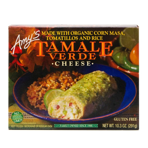 Amy's Cheese Tamale Verde