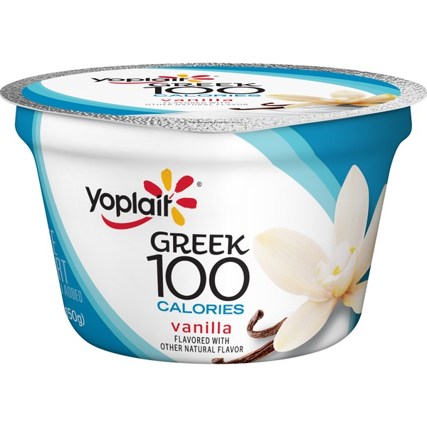 Yoplait Greek 100 Calories Vanilla Fat Free Yogurt