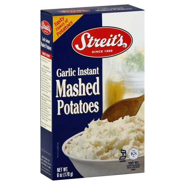Streit's Mashed Potatoes, Instant, Garlic