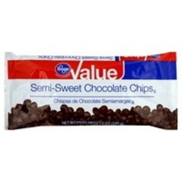 Kroger Jumbo Semi Sweet Chocolate Baking Chips