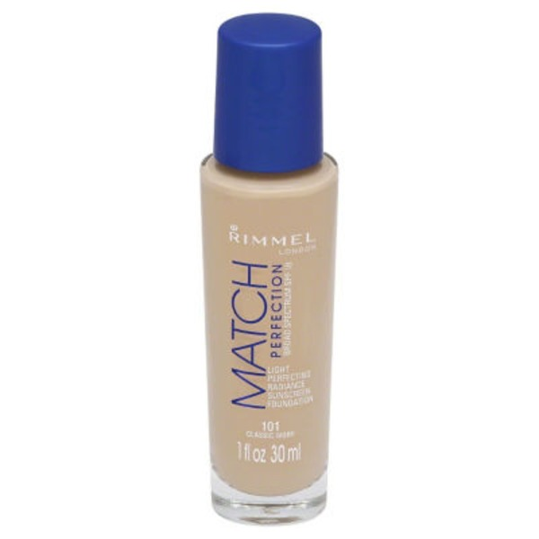 Rimmel Match Perfection Sunscreen Foundation - Classic Ivory 101