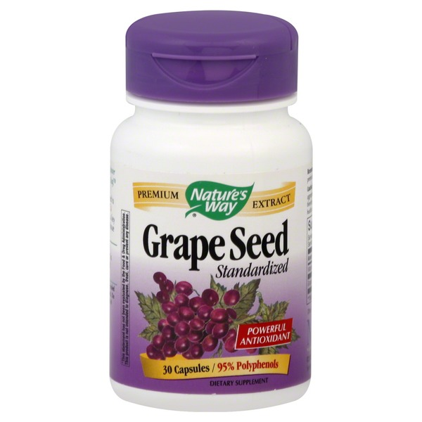 Nature's Way Premium Extract Grape Seed Standarized Capsules