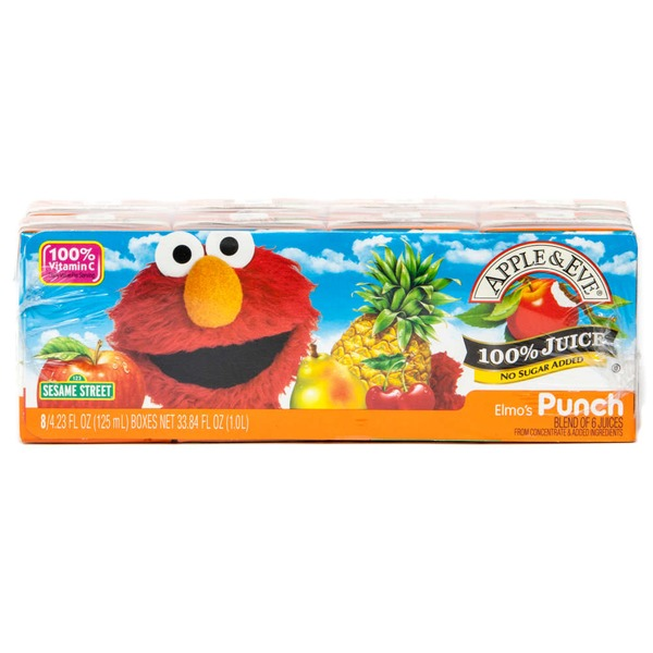 Apple & Eve Sesame Street Elmo's Punch 100% Juice