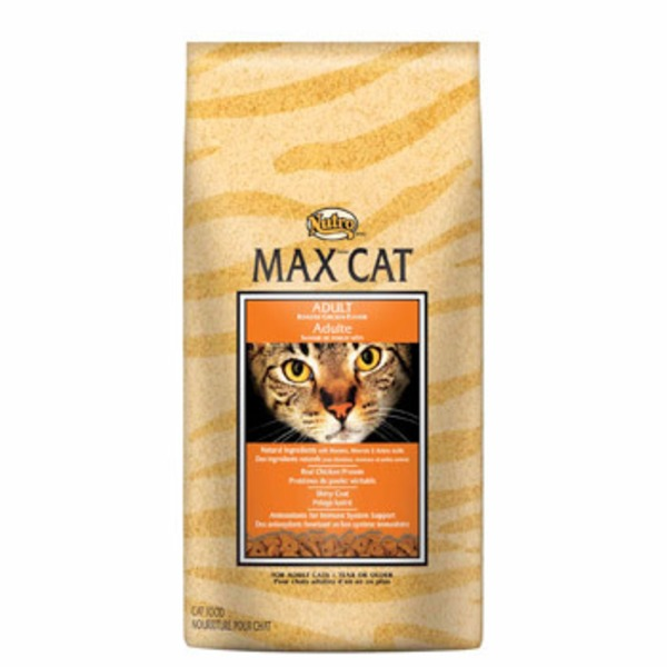 Nutro Max Cat Adult Roasted Chicken Flavor for Adult Cats 1 Year or Older
