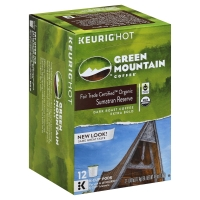 Green Mountain Coffee K-Cup Pods Sumatran Reserve Extra Bold Dark Roast