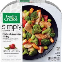 Healthy Choice Simply Steamers Chicken & Vegetable Stir Fry, 9.25 ounce