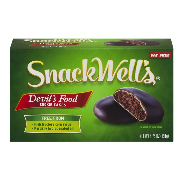SnackWell's Nabisco SnackWell's Devil's Food Cookie Cakes