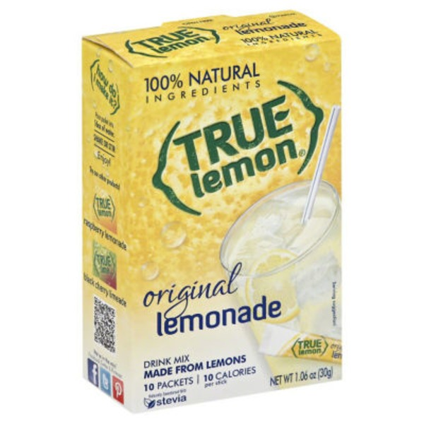 True Lemon Original Lemonade Drink Mix