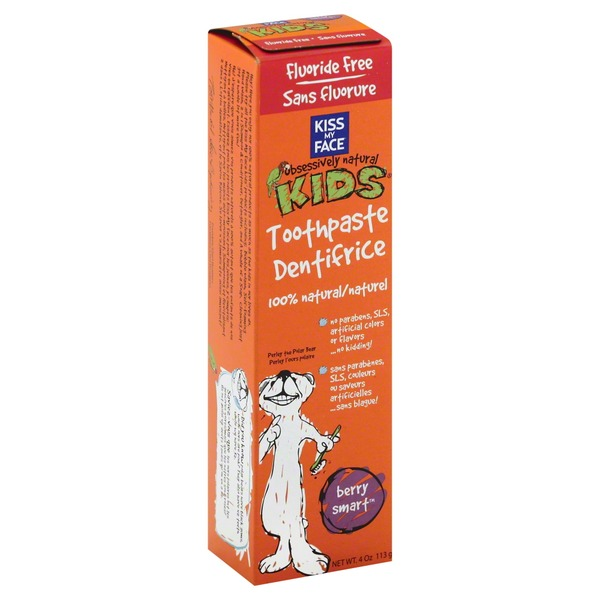 Kiss My Face Berry Smart Kid's Toothpaste
